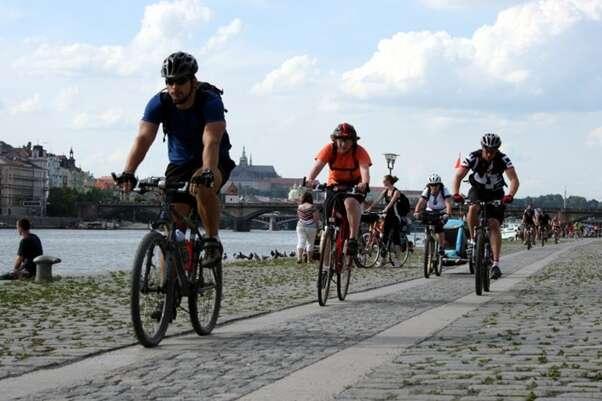 Mnoho radnic vpostkomunistických zemí vnímá cyklistiku stále jako spíše volnočasovou aktivitu než perspektivní způsob dopravy. Foto Auto*Mat