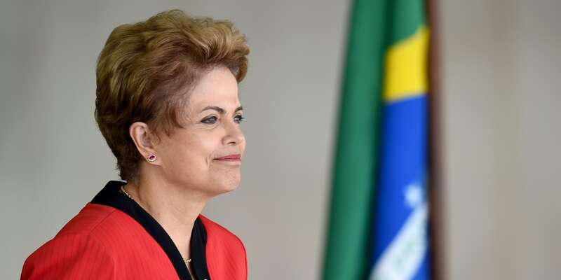 Krátce poodvolání Dilmy obvinila brazilská federální policie Eduarda Cunhu, hlavního strůjce aarchitekta impeachmentu. Fotoblogdapoliticabrasileira.com
