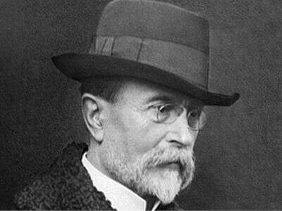 Masaryk, kromě toho, že byl během války uprchlíkem, dobře věděl to, cosoučasní sociálně demokraté jako byzapomněli: že předsudkům jetřeba čelit silnějším příběhem, sodvahou. Repro DR