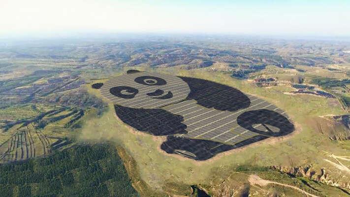 Čína investuje stamiliardy doobnovitelných zdrojů, odstupuje oduhlí astaví obří solární elektrárny. Foto archiv DR
