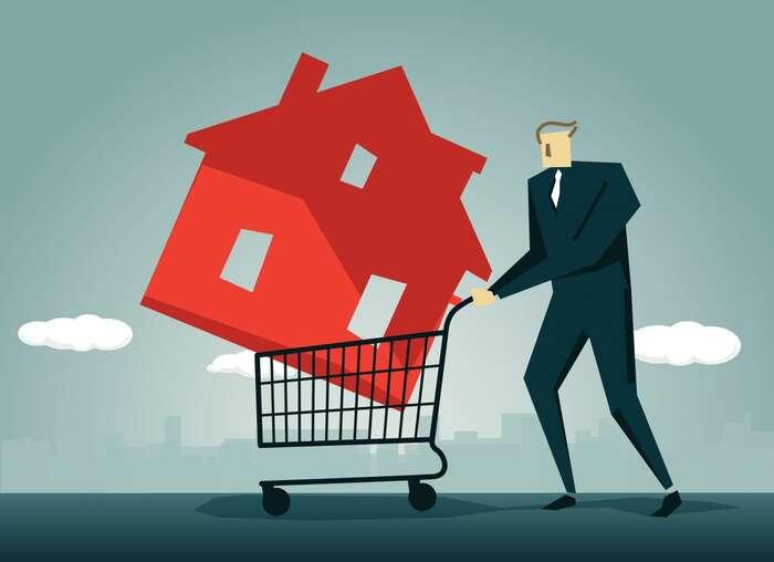 Z nemovitostí byměly vznikat především lidské domovy, nikoli kasičky napeníze investorů. Repro DR
