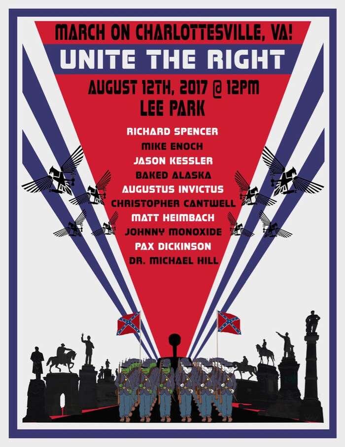 Ukázka současné alt-right estetiky: pozvánka nasobotní protest. Repro NA, Twitter