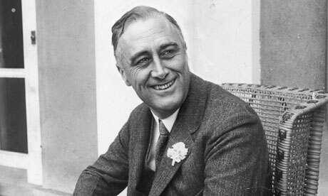 Zednář avítač. Přesto usedl doprezidentského křesla celkem čtyřikrát. (Franklin Delano Roosevelt) Foto Tes