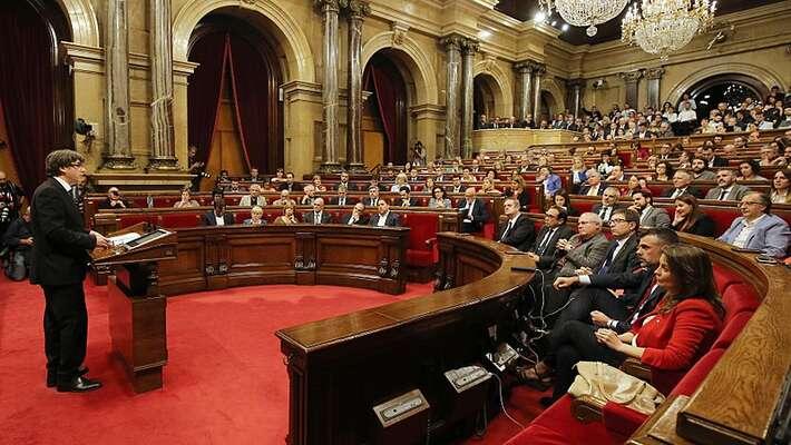 Katalánský parlament má 135 křesel. Separatisté jich drží aktuálně 68. Foto Generalitat deCatalunya