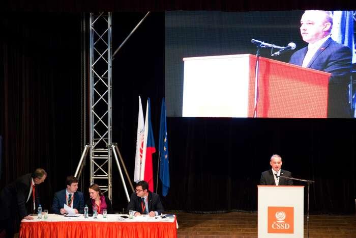 Josef Středula delegátům: Dělejte tojako my, budete taky tak úspěšní.