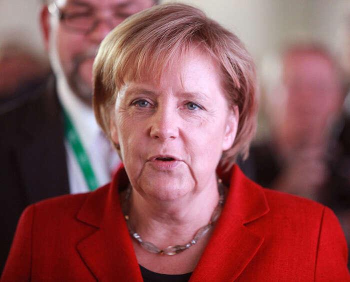 Přinejmenším platí, že spolková kancléřka sechová jako člověk. Narozdíl odjiných politiků. Foto WMC