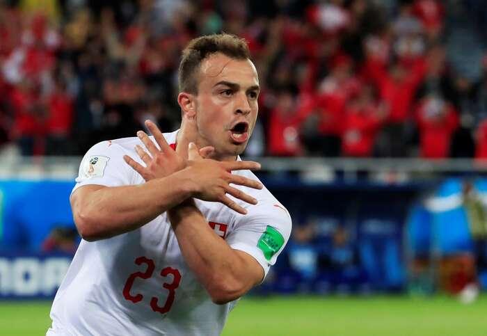 Oba hráči zagesto dostali čtvrtmilionovou pokutu. FIFA dokonce původně zvažovala, že jim vystaví dvouzápasovou stopku. Repro DR