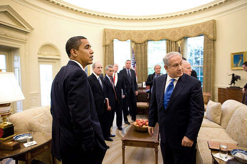Pozice amerického prezidenta aizraelského premiéra, cose týče Íránu, jsou dnes odlišné. Foto Pete Souza, White House