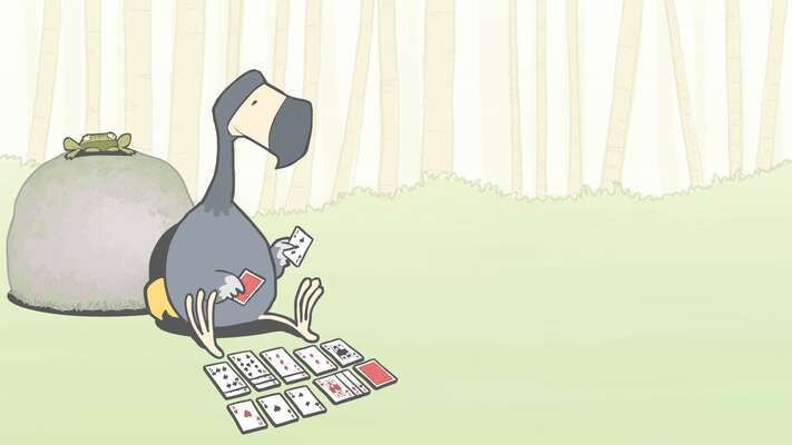Výjev zanimovaného filmu The Lonely Dodo. Repro DR