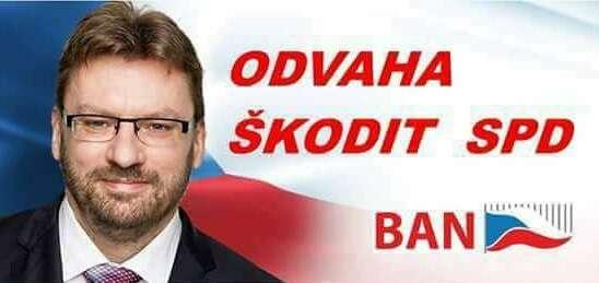 Za největší symbol autoritářského zla platí vočích vyhozených členů obchodník schudobou Lubomír Volný. Foto FBBývalí členové SPD