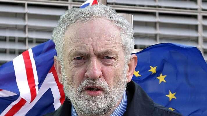 Kritikové zevnitř labouristického hnutí tlačí aktuálně naJeremyho Corbyna, aby odstoupil bez prodlení. Foto Sky News