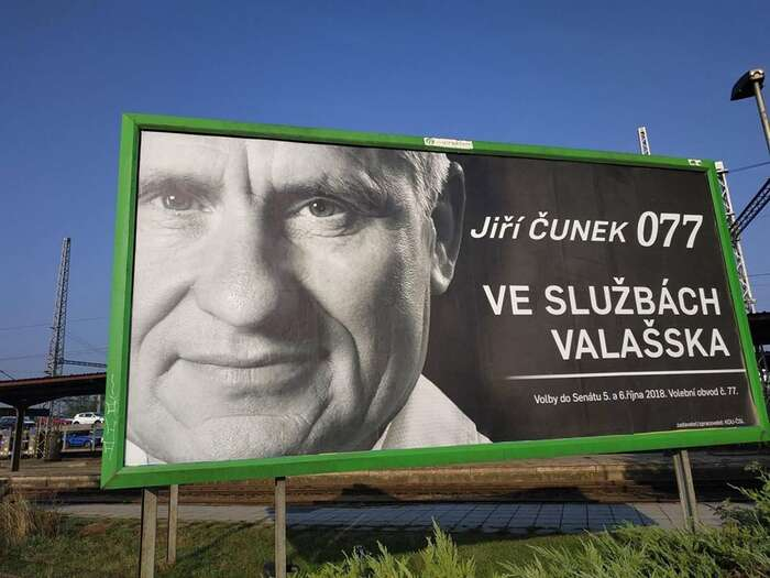 Strany tuČunkovi velmi usnadnili: žádná výrazná osobnost proti němu nekandidovala... Foto Twitter