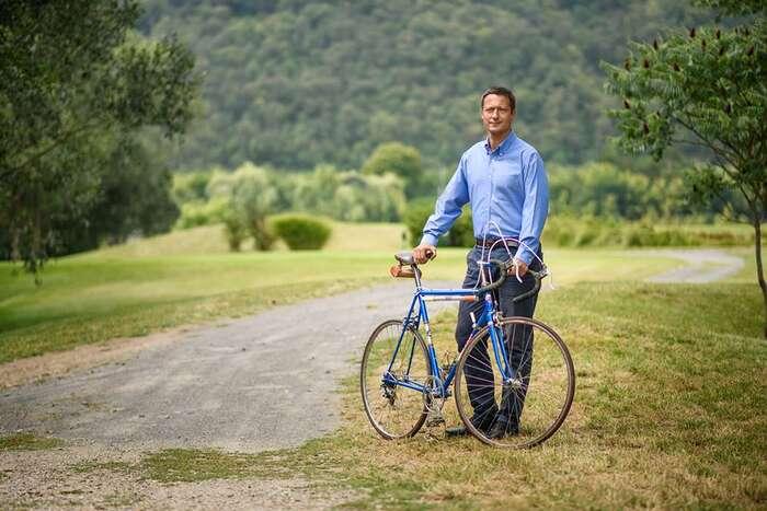 Pro ty, cooněm nikdy neslyšeli: Petr Štěpánek, předseda Strany zelených. Foto FBP. Štěpánka