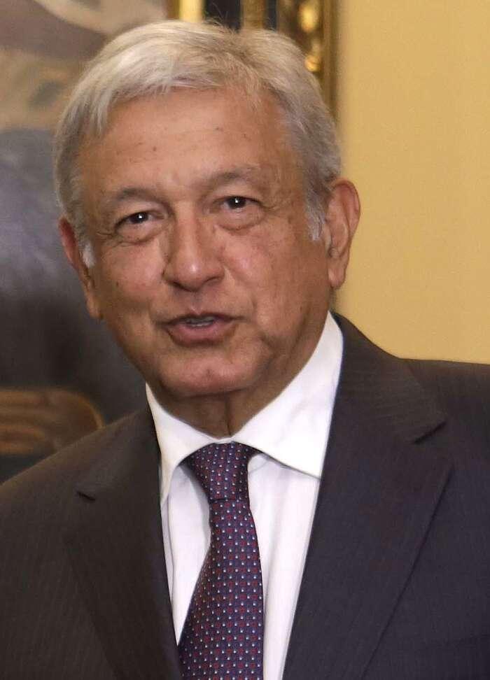 V dalším období bude důležité, jak dopadne osudové setkání Donalda Trumpa snovým mexickým levicově-populistickým prezidentem Andrésem Manuelem Lopézem Obradorem. Foto Wikipedia