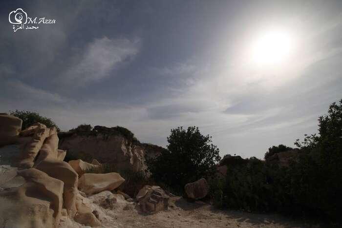 Území bývalé vesnice Bejt Džebrín sibere zpět příroda, jetu prostor, klid, čas. Foto Mohammad Al-Azza