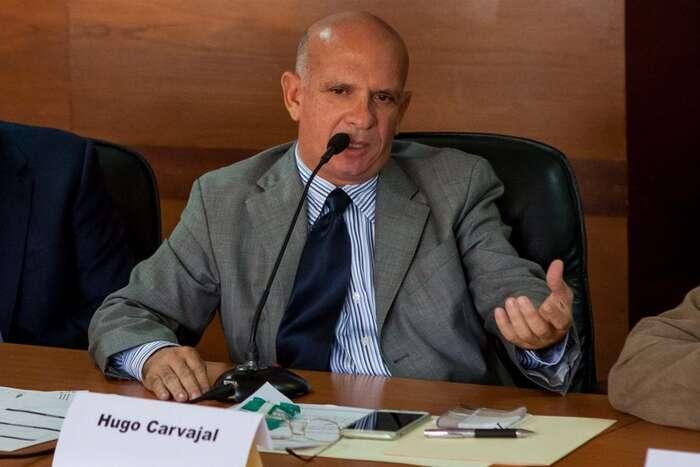 Hugo Carvajal stál dlouhá léta včele venezuelské vojenské výzvědné služby. Repro DR