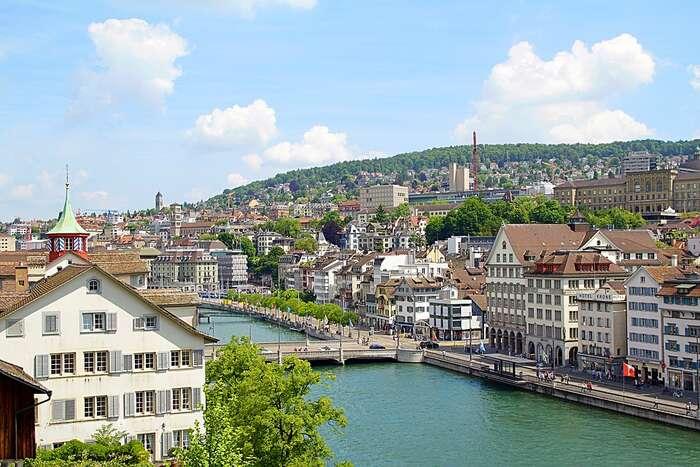 V největším švýcarském městě Curychu není volný prakticky žádný byt. Foto Pixabay
