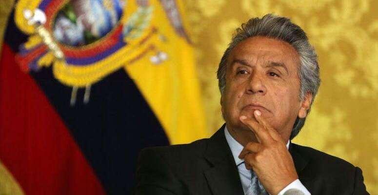 Nový ekvádorský prezident Lenín Moreno Assangovo vydání hájí. Foto archiv Cynthiagarcia.com.ar