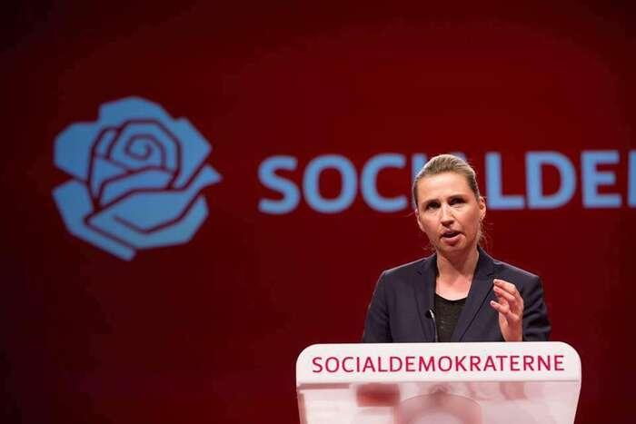 Vláda Mette Frederiksenové spravuje Dánsko odloňského června. Foto FBMF
