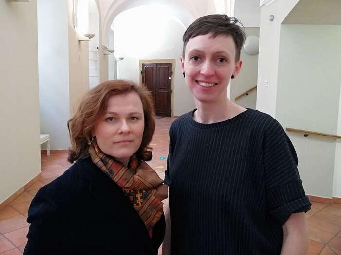 Magdaleně Sodomkové aBrit Jensen sedostalo zastání kolegů. Foto Jana Čavojská
