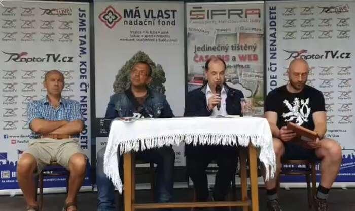 Jednoho zpanelů sezúčastnil iposlanec zaČSSD Jaroslav Foldyna. Repro Youtube.com
