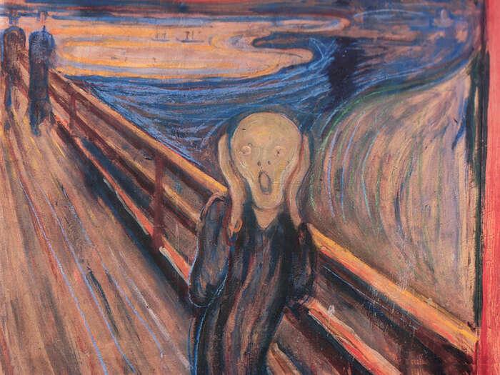 Strach může být zprvu dobrý prostředek, jak naproblém vážně upozornit, později však vyvolává bezmoc. Repro DR