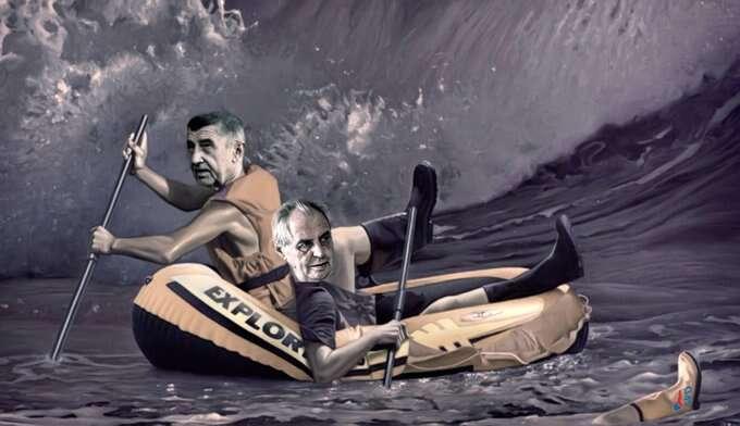 Že obraz současné české reality připomíná rozsypané zrcadlo, jesoučástí plánu těch, kdo sechopili moci. Koláž BEUywube