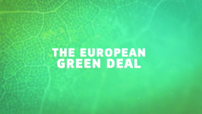 Evropská komise představila Zelenou dohodu svelkou slávou. Podle kritiků jevšak příliš vágní, málo ambiciózní, pomalá aneřeší systémové příčiny klimatické krize. Repro Europa Unida
