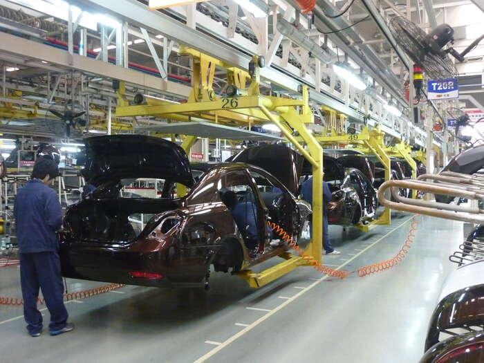 """Proměna automobilového průmyslu jeneodvratitelná amá zhola jiné důvody než nějakou """"umělou politickou snahu omezit emise"""".Foto Wikimedia Commons"""