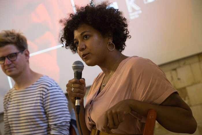 """Johanna, jak jiznáme, bybyla mezi prvními, kdo bynechtěl svůj význam pro """"aktivismus mladých lidí vEvropě"""" sGretou srovnávat. Foto FBMezipatra"""
