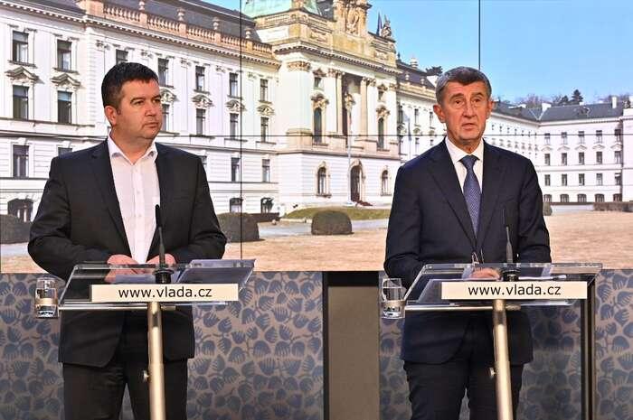 Andeji Babišovi podle všeho záleželo především natom, aby Ústřední krizový štáb neřídil jeho koaliční partner. Foto vlada.cz