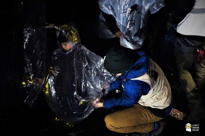 Dobrovolnické organizace jsou nuceny sezoblasti stahovat. Foto Lighthouse Relief