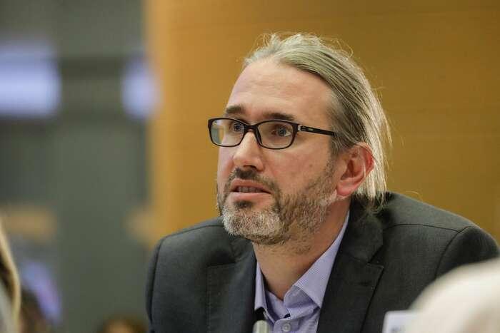 Europoslanec Martin Hojsík: Podle mě jenyní naprosto nevyhnutelné, abychom při nastartování ekonomiky naSlovensku, vEvropě ale inacelém světě vzali doúvahy to, že musíme zároveň řešit klimatickou krizi. Aspolu stím iskutečnost, že celá transformace musí být sociálně spravedlivá. Foto Evropský parlament