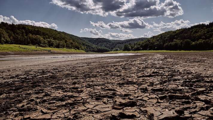 Sucho letos může ohrozit už idodávky pitné vody. Foto Steff, Pixabay