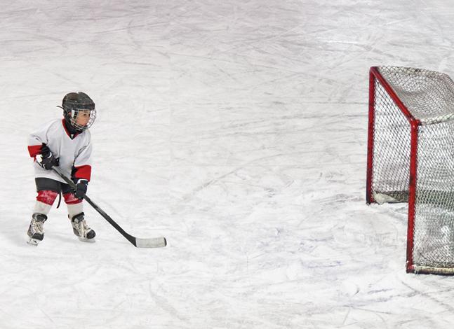 Součástí snah Českého hokejového svazu obnovit zašlou slávu našeho hokeje byměla být také snaha kultivovat prostředí, vněmž jsou další hokejové generace vychovávány. Foto Stocksy