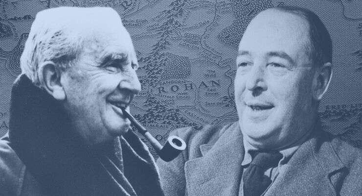 Pro oba Tolkiena iLewise bylo přátelství jedním zezákladů životní síly, bez níž bynemohli tvořit. Koláž Brandon Vogt