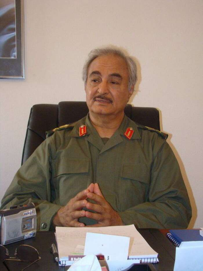 Maršál Haftar. Foto Magharebia, flickr.com