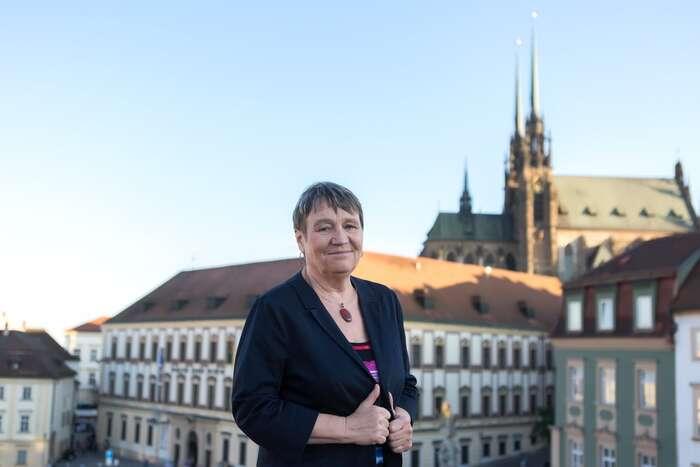 Anna Šabatová sepro kandidaturu rozhodla naposlední chvíli. Foto Facebook Anna Šabatová