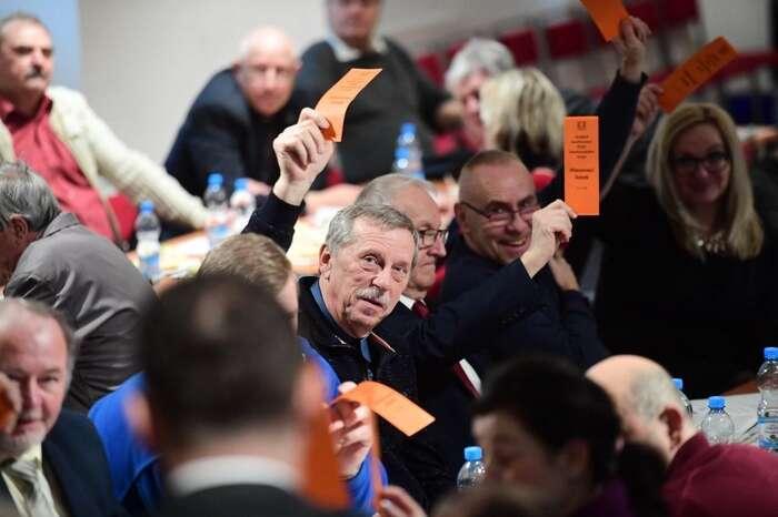 Sociální demokracie sezkdysi demokratické strany proměňuje vespolek otroků, říká dnes už bývalý předseda organizace vÚsteckém kraji Miroslav Andrt. Foto FBČSSD