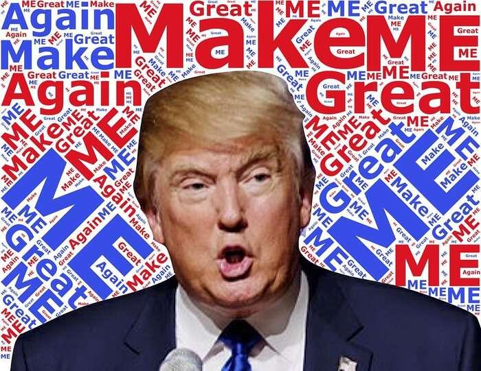 Schopnost dnešního amerického prezidenta zaměstnat několika slovy vtweetu média celého světa jeskutečně unikátní. Grafika Pixbay