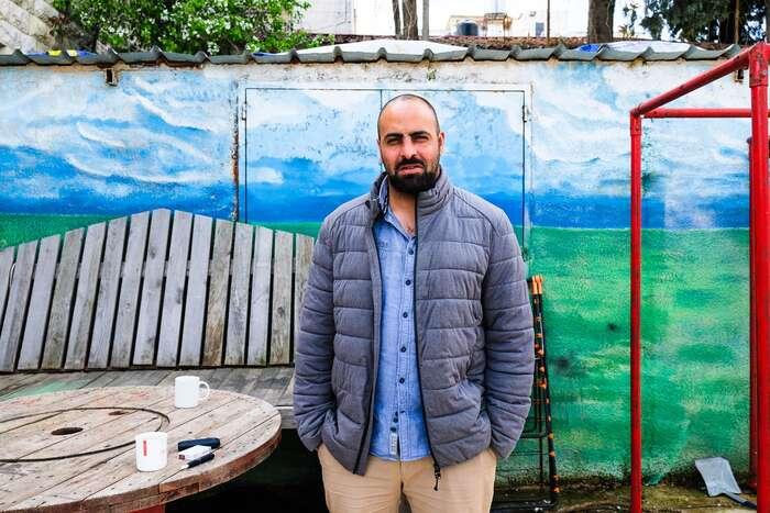 """Mohamad Rabah: """"Tady jsou sivšichni rovni avšichni semohou nějak zapojit, nehledě nasvůj původ nebo identitu."""" Foto Lucie Šarkadyová"""