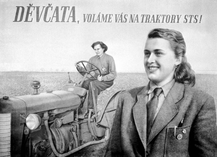 """Na některé dnešní kritiky """"revizionistické"""" historie doslova jako rudý hadr nabýka například působí, že sehistorikové dějin komunistické éry zajímají io to, kolik sevdané době vyrobilo traktorů. Toje přitom ale zásadní pro pochopení toho, jak akdy senejstabilnější oporou režimu postupně stali družstevní zemědělci."""