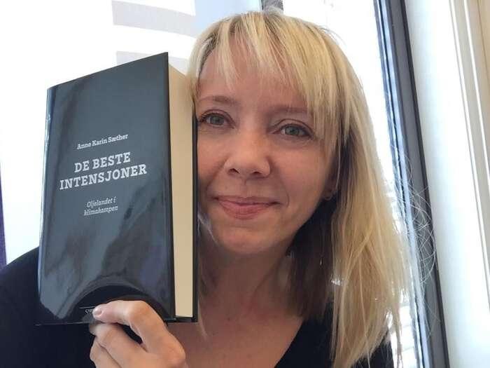 Kniha Sætherové otevřela prostor kdialogu nejen sekologickým hnutím, ale také sezástupci byznysu. FBAnne Karin Sæther