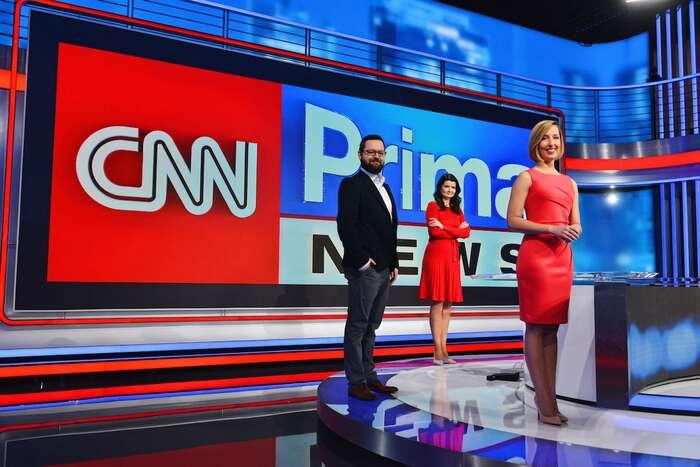 """Navzdory hlasům znovinářské obce byČeské televizi prospěla konkurence """"lidové"""" televize, která bypřinášela kvalitní aangažované zpravodajství apublicistiku, srozumitelné těm, kteří dnes sledují Novu nebo Primu. Ale CNN Prima už tonebude. Foto TVPrima"""