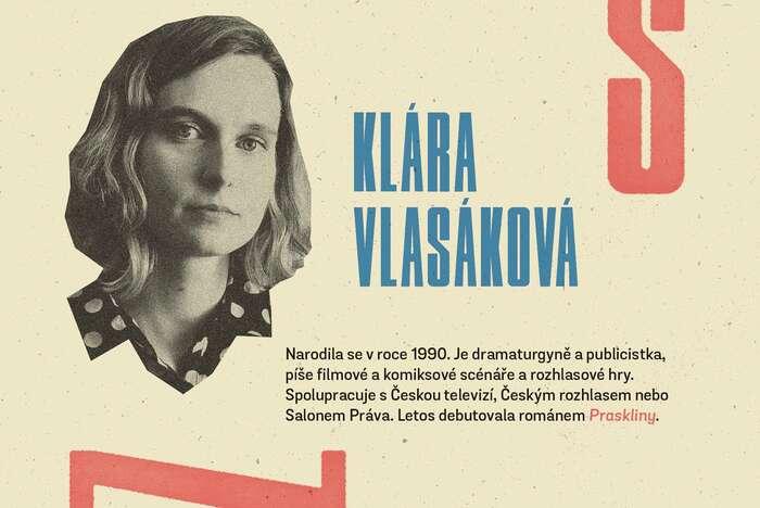 Druhý esej vřadě představuje Klára Vlasáková. Grafika Petr Kněžek