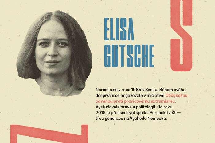 Pátý esej pro cyklus napsala občanská aktivistka pocházející zesaského venkova. Grafika Petr Kněžek