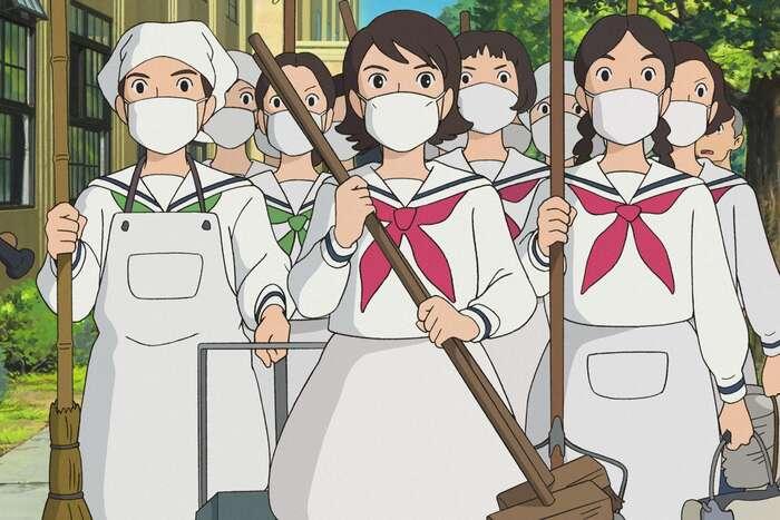 Stále platí, že hlavní sílu pro nastalé potíže nám dává — kromě zdravotnického systému — něco mnohem prostšího: osobní ikolektivní odpovědnost amezilidská solidarita. Ilustrace Studio Ghibli
