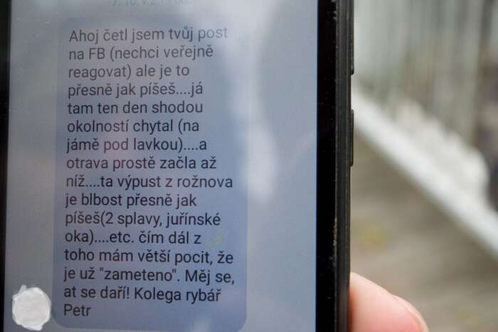 """Ta výpusť zRožnova jeblbost…"" Foto Jakub Patočka, DR"