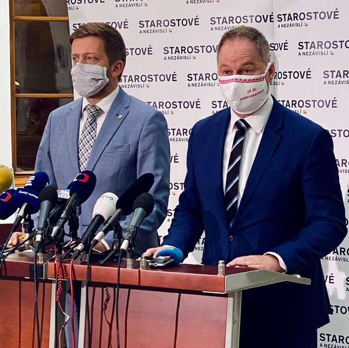 Poslanec Petr Gazdík vyzval ministra Richarda Brabce krezignaci. Ten ovšem zvlády odejít nehodlá. Prý sežádných chyb nedopustil. Foto FBP. Gazdík