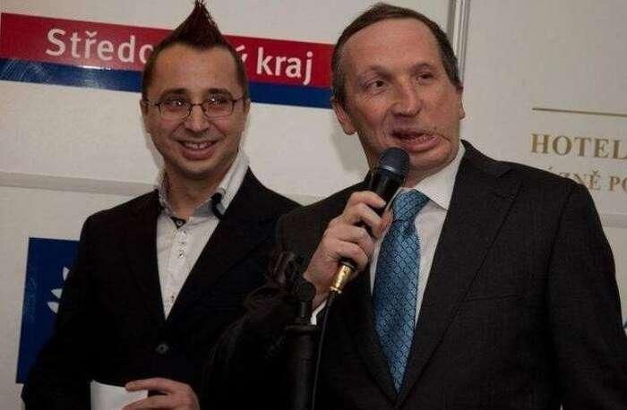 Předseda Rady České televize Pavel Matocha sjedním zesvých sponzorů. Foto FBPavel Matocha